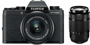 Fujifilm X-T100 + XC15-45mmXC50-230mm Fujifilm X schwarz