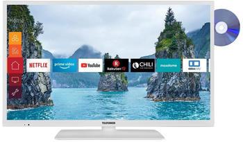 Telefunken XH32G511D-W LED-Fernseher weiß, SmartTV, WXGA, WLAN, Triple Tuner, DVD