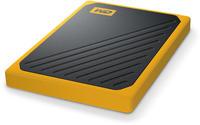 Western Digital My Passport Go SSD 500GB schwarz/gelb