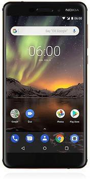 Nokia 6 (2018) schwarzkupfer