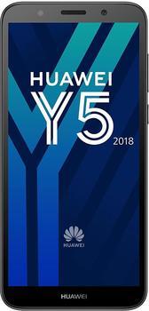 Huawei Y5 (2018) Smartphone (13,8 cm (5.45 Zoll) 16 GB Speicherplatz, 8 MP Kamera) Schwarz