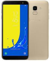 Samsung Galaxy J6 Smartphone (14,25 cm/5,6 Zoll, 32 GB Speicherplatz, 13 MP Kamera) goldfarben