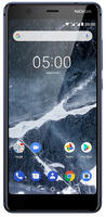 Nokia 5.1 temperiertes blau