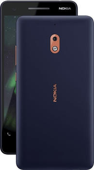 Nokia 2.1 2018 Dual-SIM-Smartphone blue-copper 8 GB