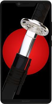 Sharp D10 Dual-SIM Smartphone (14,9 cm/5,99 Zoll, 64 GB Speicherplatz, 12 MP Kamera) schwarz