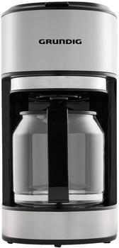 Grundig Kaffeemaschine KM 5620 Edelstahl, Schwarz Fassungsvermögen Tassen=10 Glaskanne, Warmhaltefu