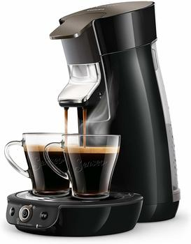 Philips HD6564/60 Viva Cafe Kaffeepadmaschine, Schwarz