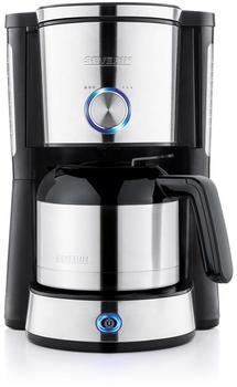 Severin KA 4845 Kaffeeautomat mit Thermokanne Edelstahl gebürstet/schwarz
