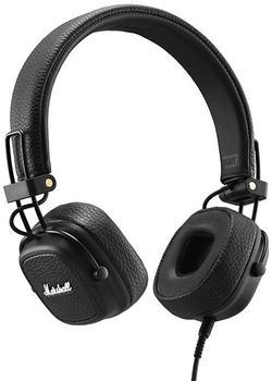 Marshall Major III On Ear Faltbar, Headset, Lautstärkeregelung Schwarz