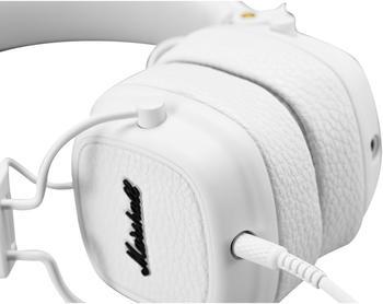 Marshall Kopfhörer Major III On Ear Faltbar, Headset, Lautstärkeregelung Weiß
