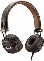 Marshall Major III On Ear Faltbar, Headset, Lautstärkeregelung Braun