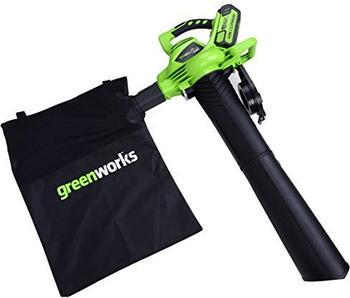 Greenworks Akku-Laubbläser 40V (ohne Akku und ohne Ladegerät)