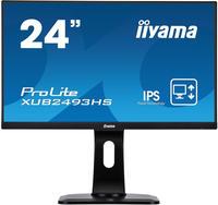 Iiyama ProLite XUB2493HS-B1 23.8Zoll Full HD LED Matt Flach Schwarz Computerbildschirm