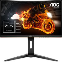 AOC C24G1 24Zoll Full HD LED Gebogen Schwarz, Rot Computerbildschirm LED display