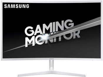Samsung C32JG51 LED, LED-Monitor weiß FullHD, VA CUrved, HDMI, 144 Hz
