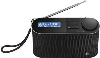 Hama DAB+ Kofferradio DR15 UKW Schwarz
