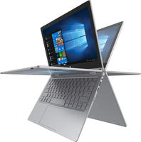 Trekstor TrekStor® Volks-Notebook 2017 Windows®-Tablet2-in-1 29.5cm (11.6 Zoll) Wi-Fi Silber Intel® Cel